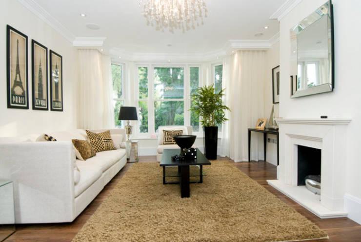 modern Living room by New Wave AV