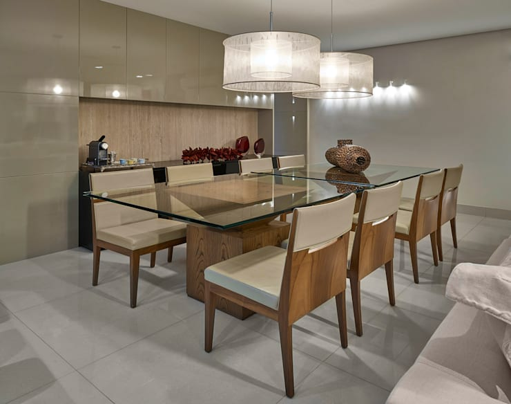 Moderne Esszimmer von Isabela Canaan Arquitetos e Associados Modern