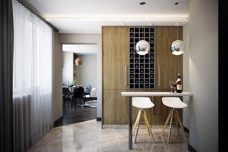modern Kitchen by Дизайн студия Алёны Чекалиной