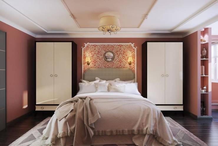 Bedroom by Дизайн студия Алёны Чекалиной