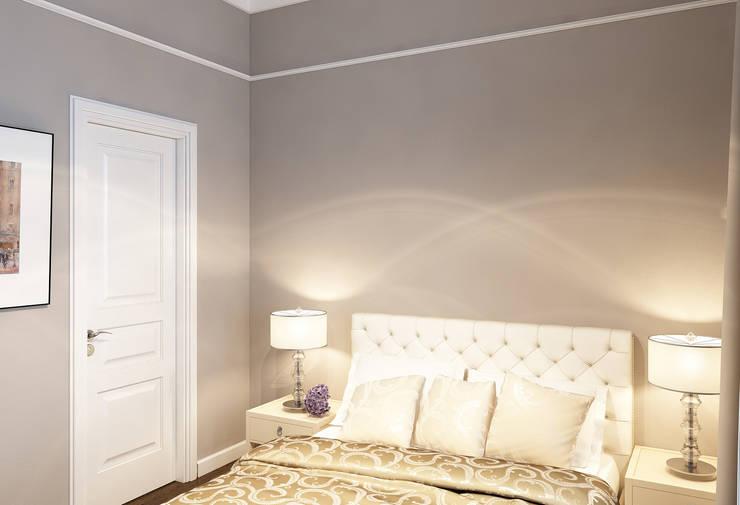 Спальня: Спальни в . Автор – Бюро9 - Екатерина Ялалтынова