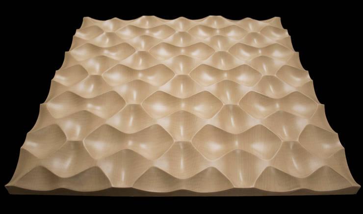INSPÍRATE CON NUESTROS MODELOS: Paredes y pisos de estilo  por GRUPO DALÒ    PANELES DECORATIVOS EN 3D