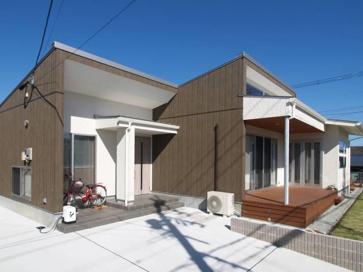 桃ノ木の家: ai建築アトリエが手掛けた家です。,オリジナル