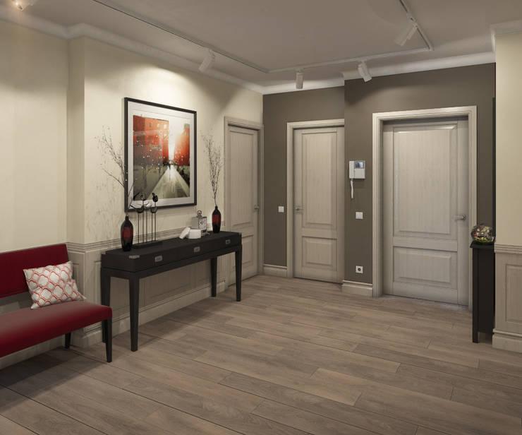 Apartment A: Коридор и прихожая в . Автор – Bovkun design