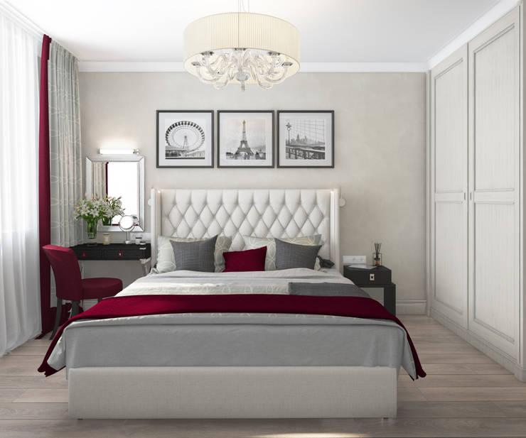 Apartment A: Спальни в . Автор – Bovkun design