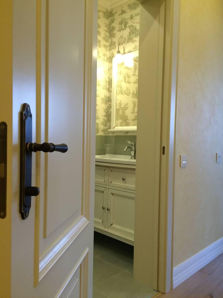 Прованс в Измайлово: Ванные комнаты в . Автор – Елизавета Краснопёрова