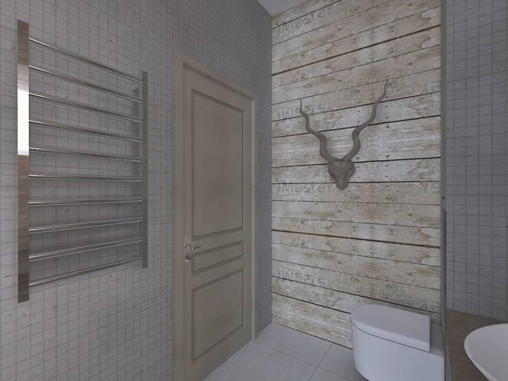 Лофт: Ванные комнаты в . Автор – Мастерская интерьеров