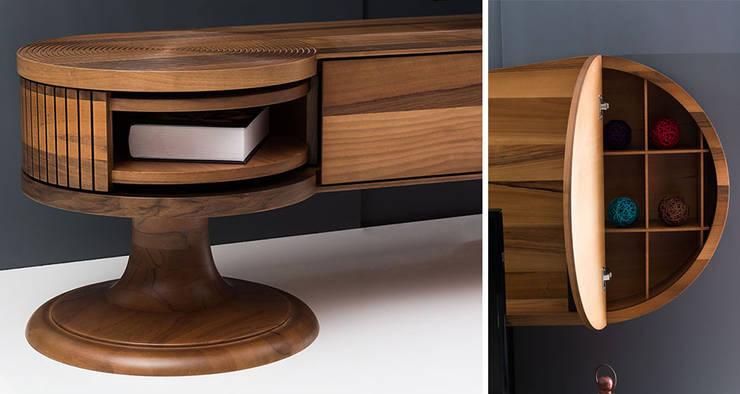 Villa Style – KEY TV ÜNİTESİ:  tarz Oturma Odası