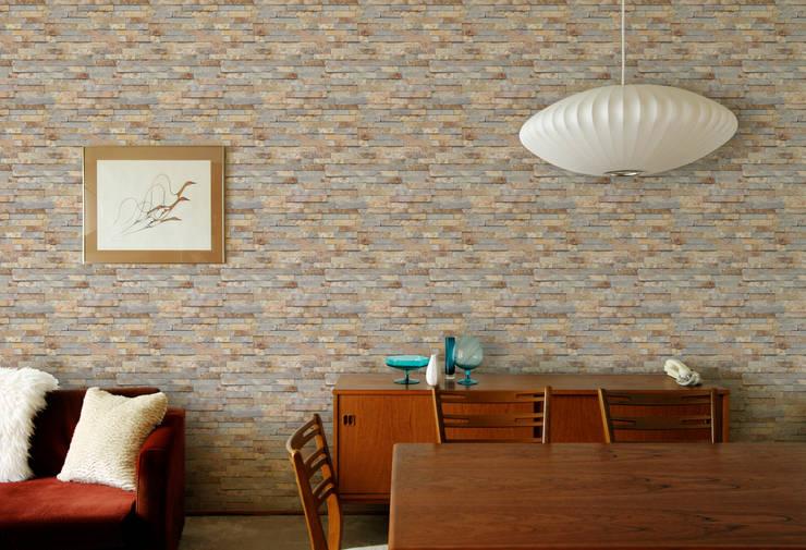 SLATE PANNEL BROWN: U2의  벽 & 바닥