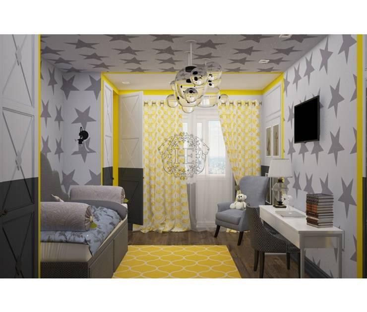 ЖК Тушино: Детские комнаты в . Автор – Home Emotions