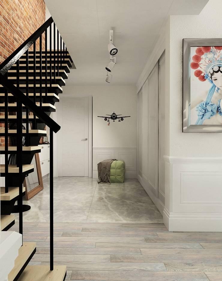 Квартира : Коридор и прихожая в . Автор – The Аrt of interior from Olga Kalinina, Эклектичный