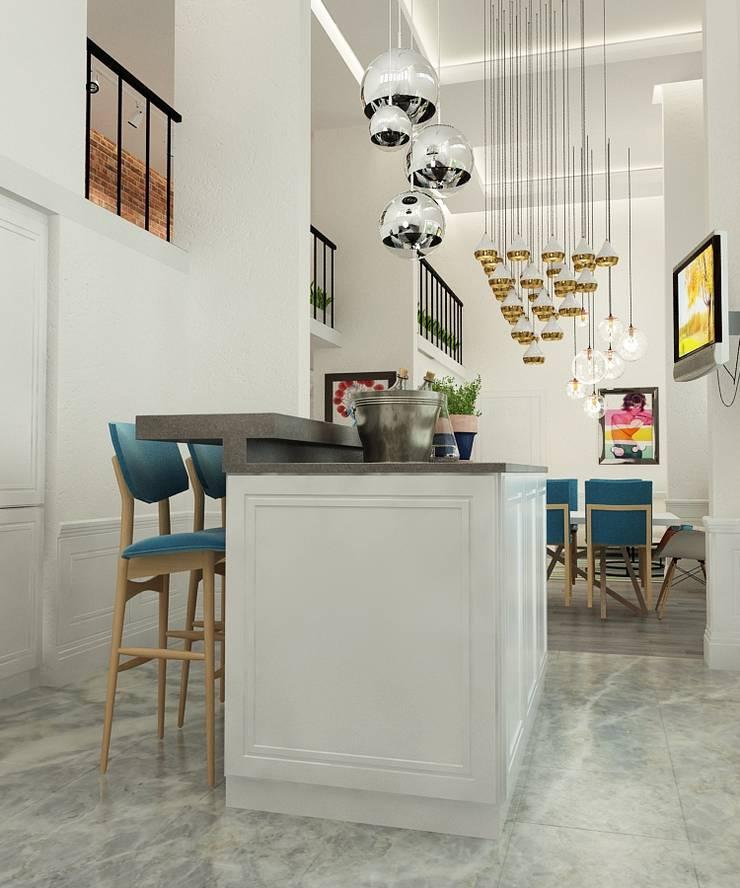 Квартира : Кухни в . Автор – The Аrt of interior from Olga Kalinina