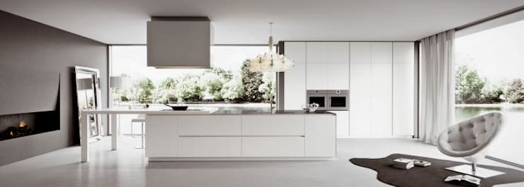 Cocinas De Obra Modernas. Diseño De Cocinas: Cocinas De Estilo De Kubic  Marbella