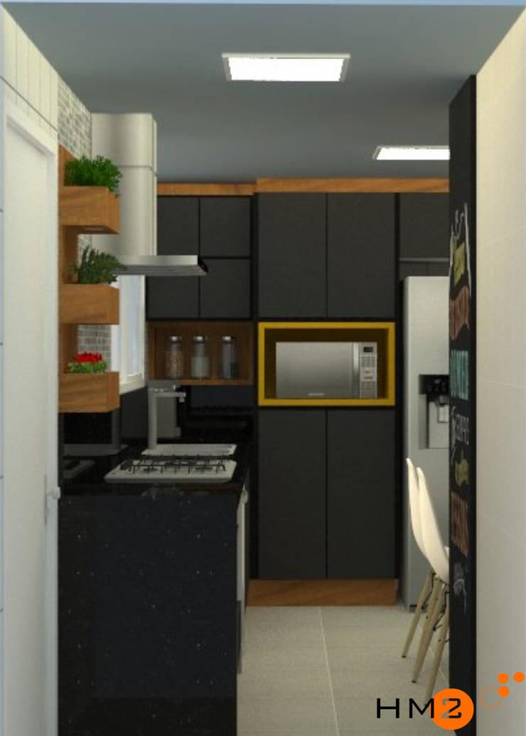 Apartamento KL:   por HM2 arquitetura criativa,