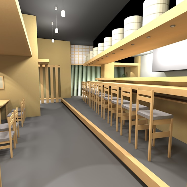 SATSUKI: 株式会社武村耕輔設計事務所が手掛けた廊下 & 玄関です。,