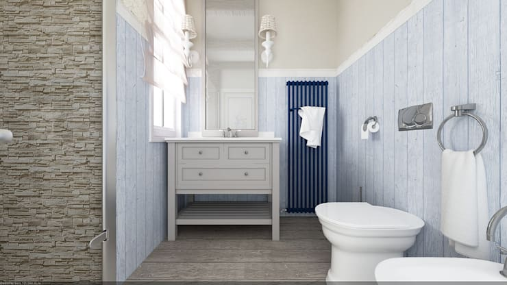 حمام تنفيذ De Vivo Home Design
