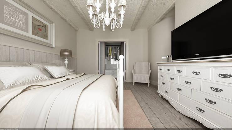 غرفة نوم تنفيذ De Vivo Home Design