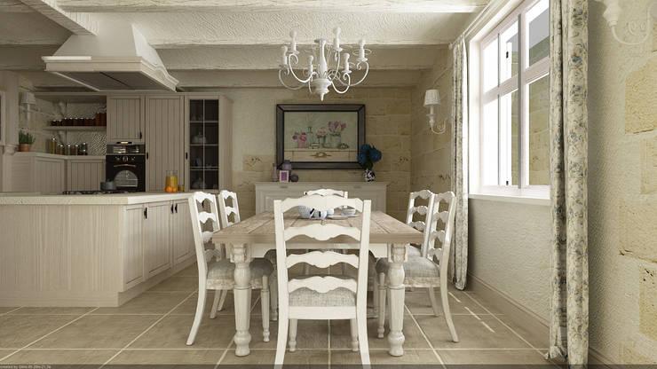 مطبخ تنفيذ De Vivo Home Design