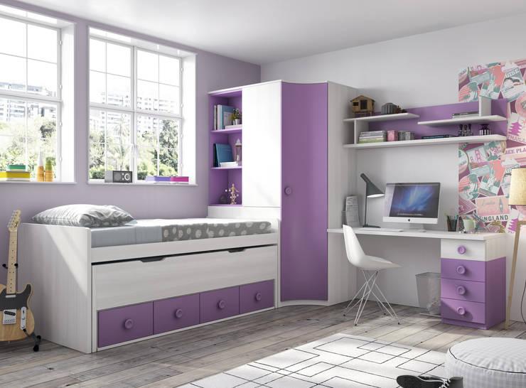 Conforto  Oferecemos soluções sofisticadas para criar ambientes relaxantes, com design refinado de forma a mobilar a sua casa, com todo o conforto que necessita.: Quarto de crianças  por relax mobiliário e decoração