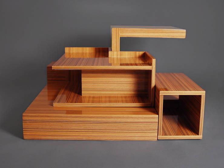 DESIGNERO – X Box Orta Sehpa:  tarz İç Dekorasyon