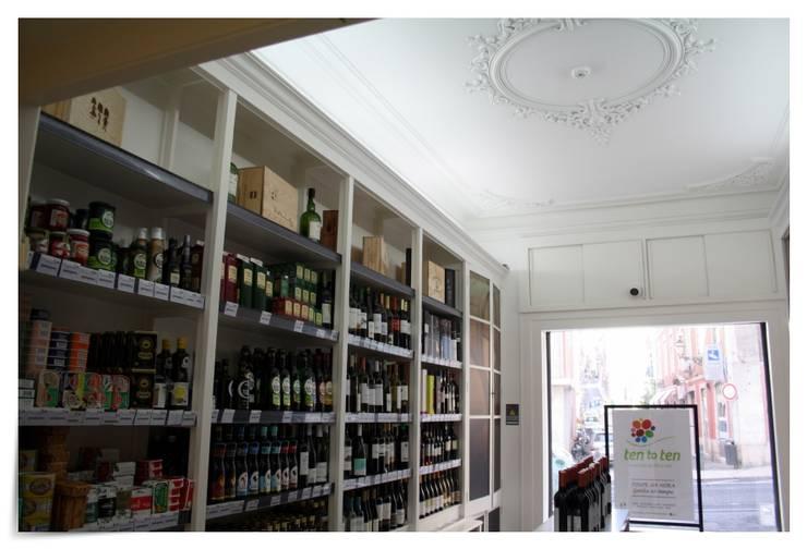 Supermercado tentoten Chiado - Lisboa:   por land2build