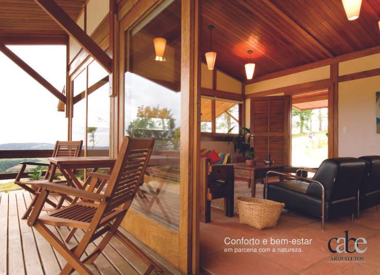Casa Parurú : Terraços  por Dualday Studio