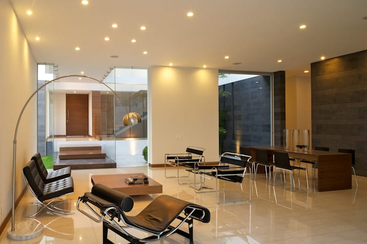 Modern Living Room by Tacher Arquitectos Modern