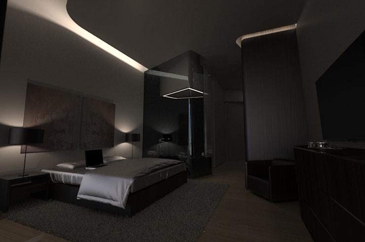 Bedroom by Office of Feeling Architecture, Lda