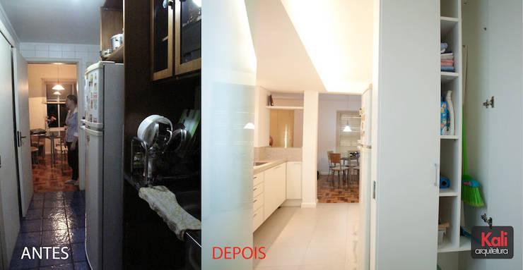Apartamento A&A - Antes/Depois:   por Kali Arquitetura