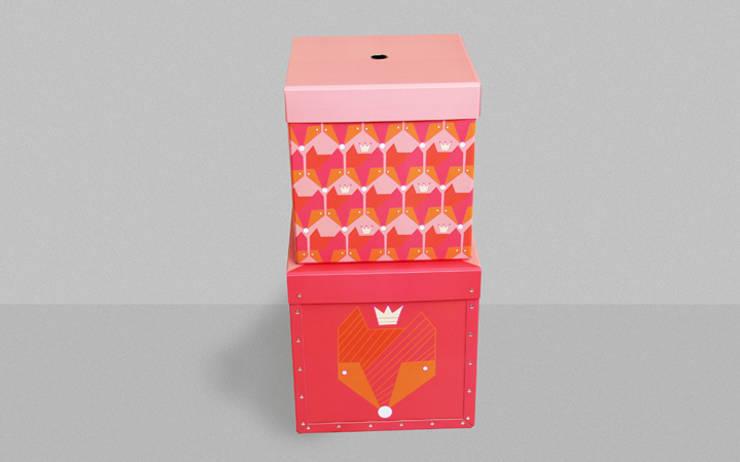 Aufbewahrungsboxen Foxes, for her: modern  von Designstudio DecorPlay,Modern