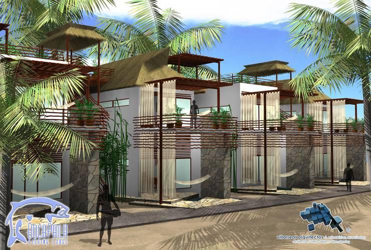 AREA DESCANSO:  de estilo  por villarreal arquitectos y urbanistas asociados sc