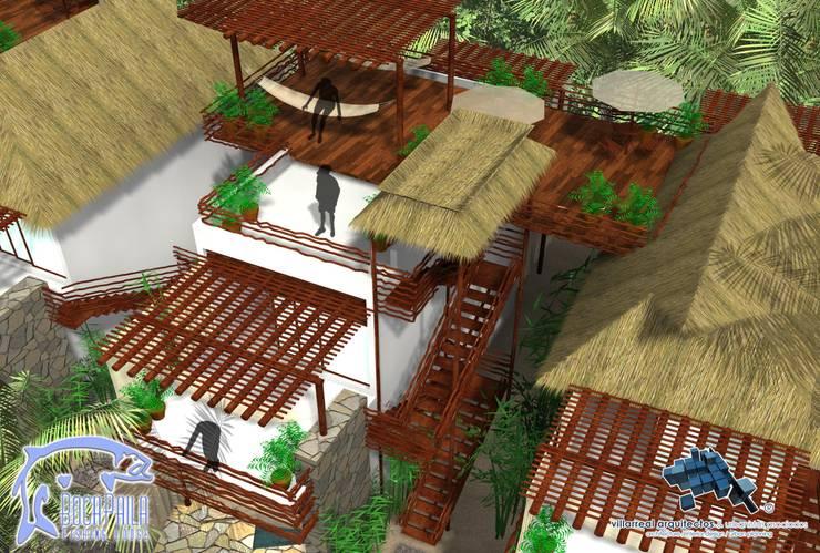 ROOF GARDEN:  de estilo  por villarreal arquitectos y urbanistas asociados sc