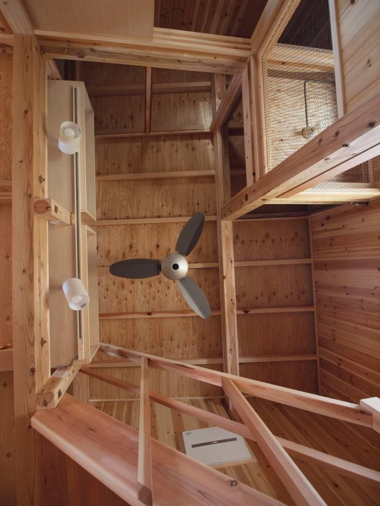 毛呂山(もろやま)の離れ: 筒井公一建築研究室一級建築士事務所が手掛けた和室です。