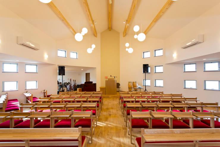 礼拝堂: ジョイ建築設計事務所が手掛けたイベント会場です。,