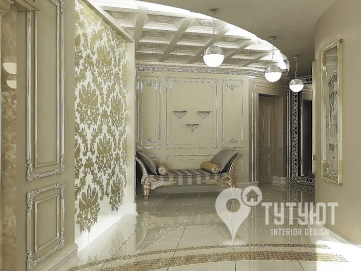 Квартира для артистической натуры: Коридор и прихожая в . Автор – Interior Design Studio Tut Yut