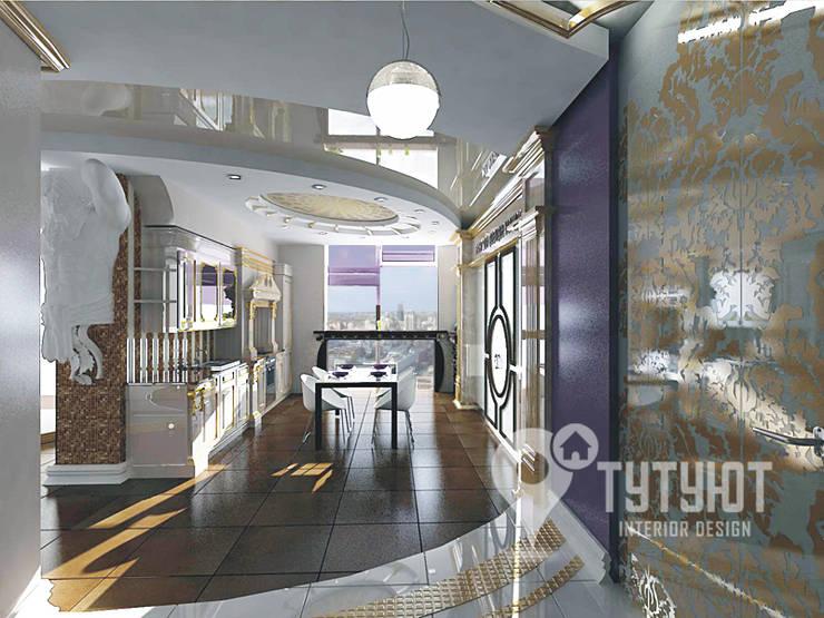 Квартира для артистической натуры: Кухни в . Автор – Interior Design Studio Tut Yut
