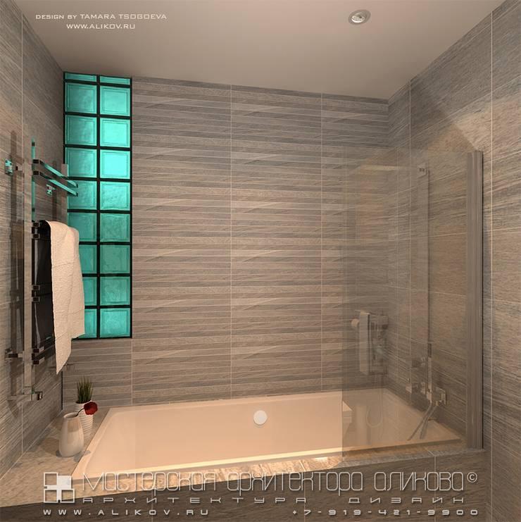 Ванная в стиле лофт: Ванные комнаты в . Автор – Мастерская архитектора Аликова