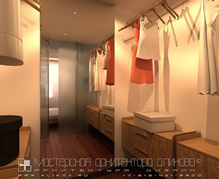 Интерьер квартиры в стиле лофт во Владикавказе: Гардеробные в . Автор – Мастерская архитектора Аликова