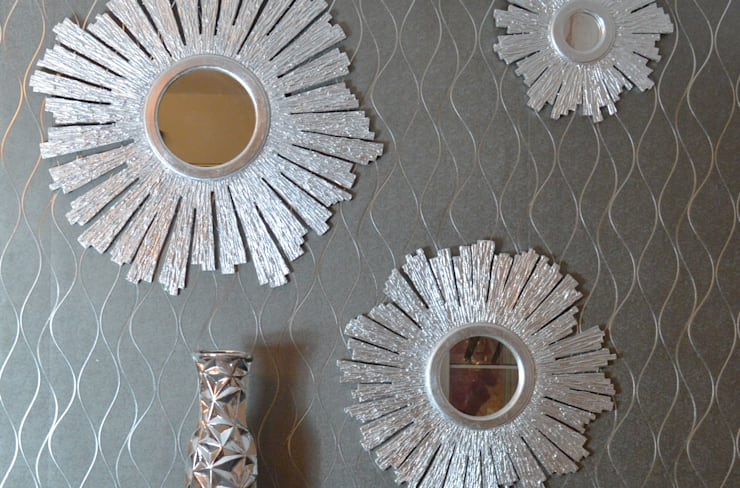 Projekty,  Ściany i podłogi zaprojektowane przez  PAPEL TAPIZ REYNOSA