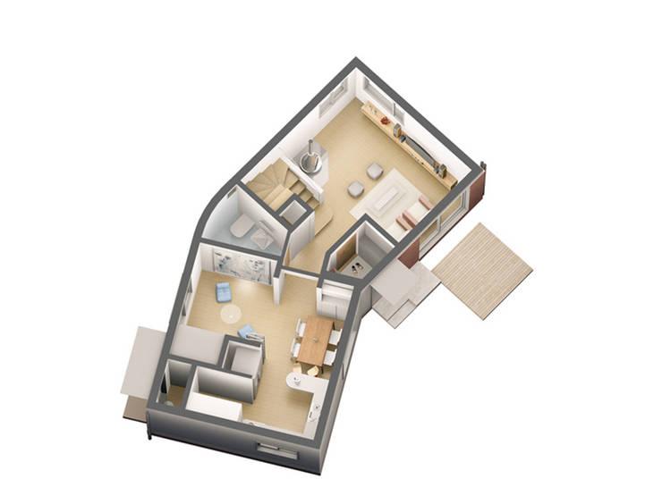 1층평면: IDÉEAA _ 이데아키텍츠의
