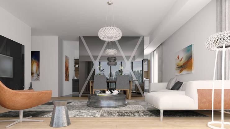 Oksijenn – 1:  tarz Oturma Odası, Modern
