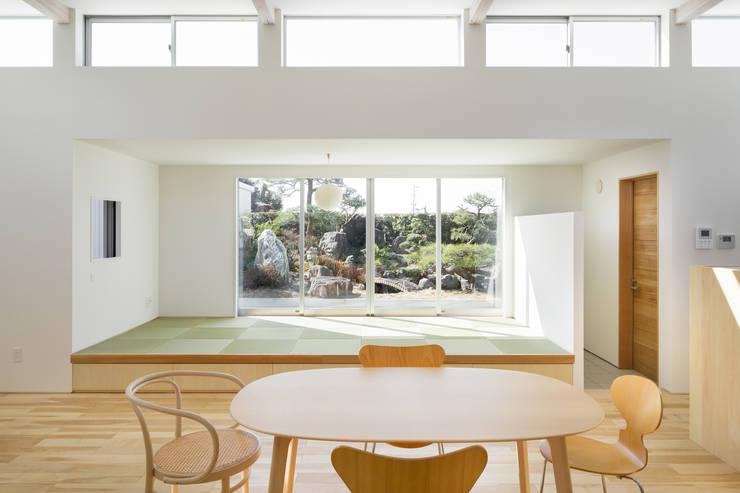 小笠の浮き家/floating house in Ogasa: 後藤周平建築設計事務所が手掛けた壁です。