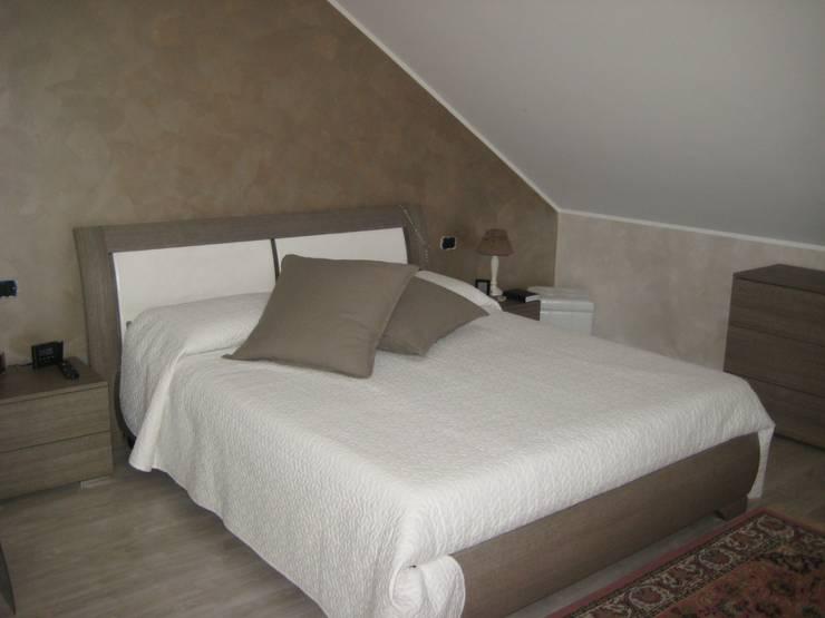 Projekty,  Sypialnia zaprojektowane przez Studio Paolo Padovan architetto