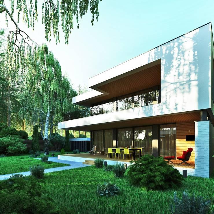 Il'dar-house: Дома в . Автор – Sboev3_Architect
