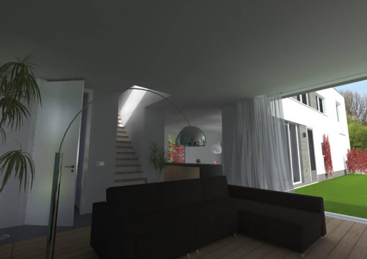 woning lent:  Woonkamer door loko architecten