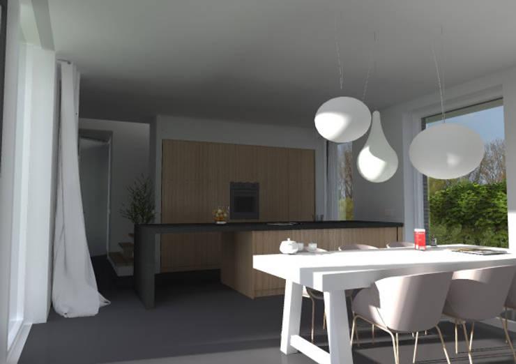 woning lent:  Keuken door loko architecten