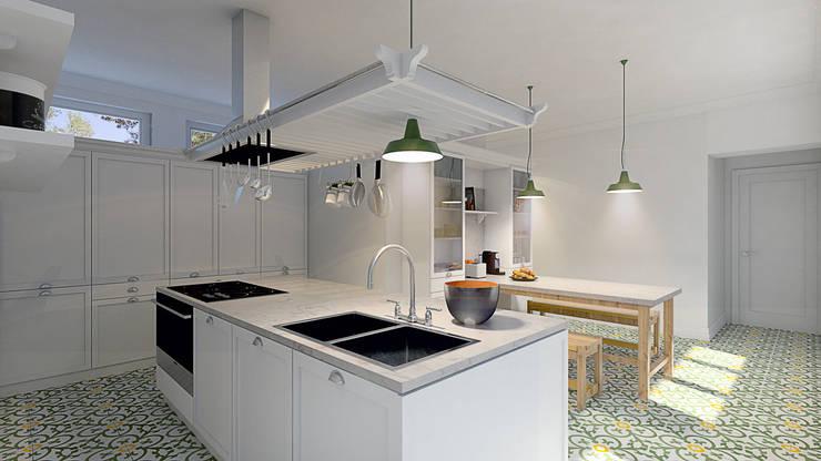 Projekty,  Kuchnia zaprojektowane przez MRS - Interior Design