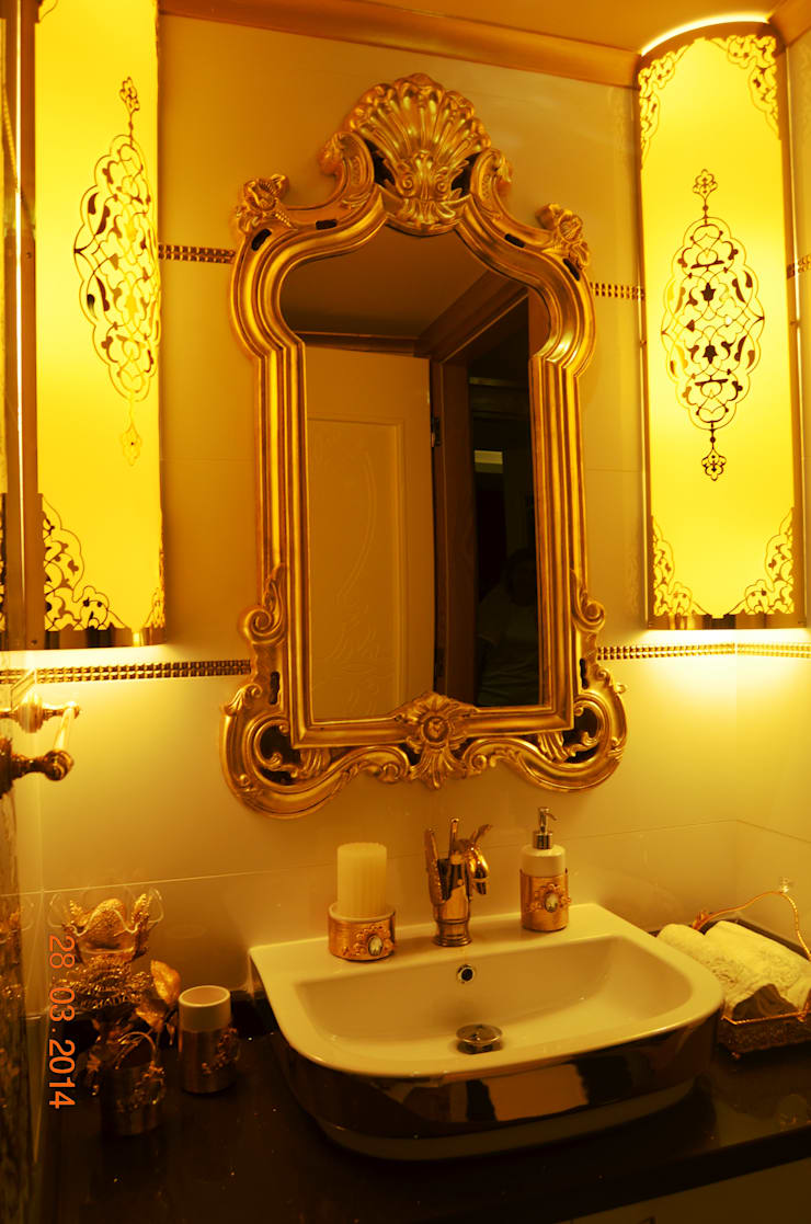 Mimar Melike Topal  – M&A Birer Evi_Alanya:  tarz Banyo