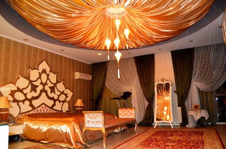 Mimar Melike Topal  – M&A Birer Evi_Alanya: klasik tarz tarz Yatak Odası