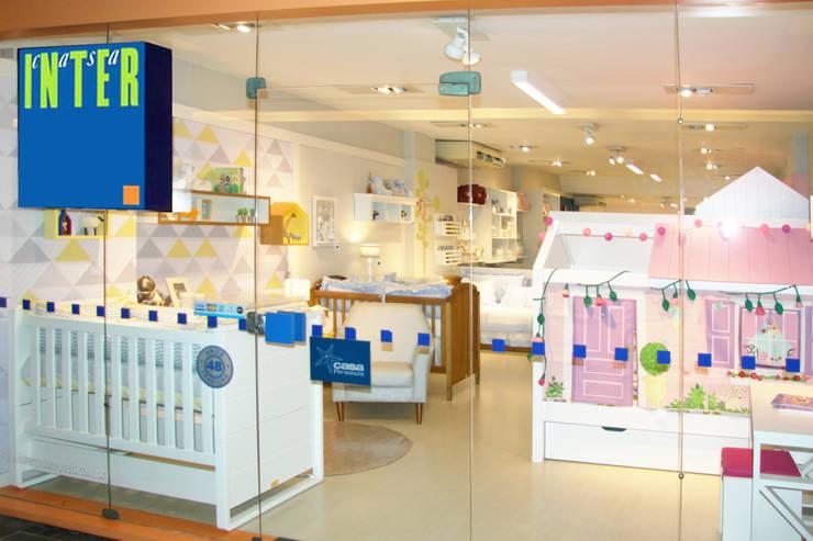 Vitrine do Showroom Casa Shopping - RJ: Lojas e imóveis comerciais  por INTERCASA MÓVEIS INFANTIS E JUVENIS